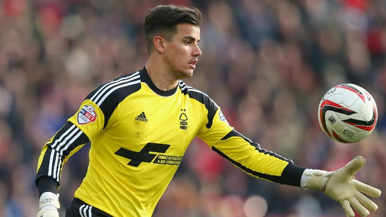 Karl Darlow: Getting regular game time at Nottingham Forest