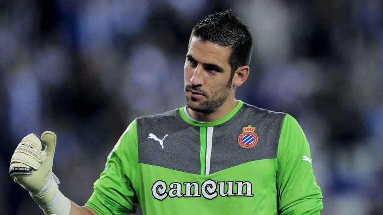 Kiko Casilla: Open to the idea of extending his stay at Espanyol