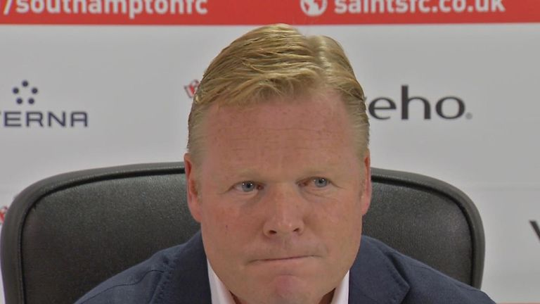 Ronald Koeman: Succeeded Mauricio Pochettino at Southampton