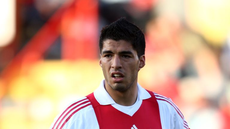 Luis Suarez: Back in his days at Ajax, where he was coached by Rob Witschge