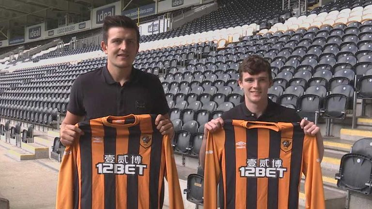 Harry Maguire and Andrew Robertson: Hull City's new defenders