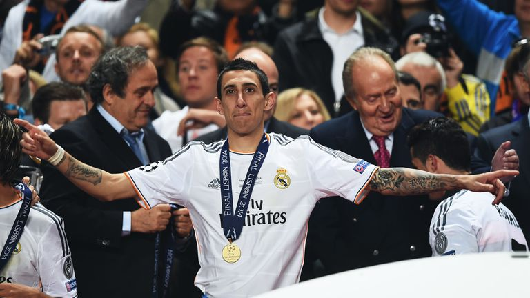 Angel di Maria: Lining up a move to Old Trafford