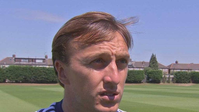 Mark Noble: Backing the appointment of Teddy Sheringham at  West Ham