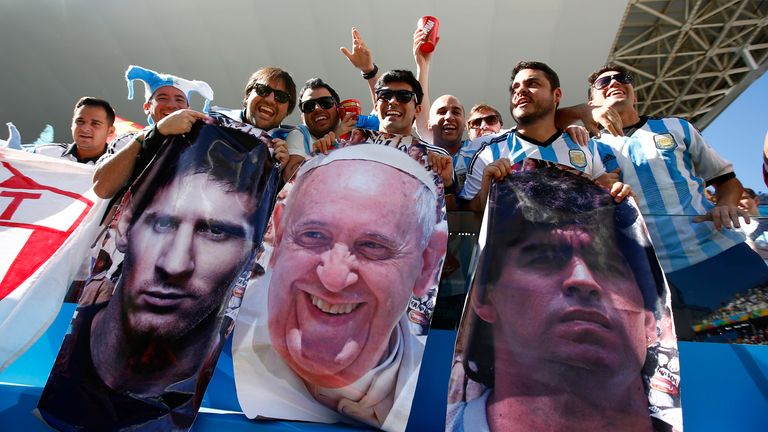 Holy Trinity: But is elevating Lionel Messi to this status doing more harm than good?