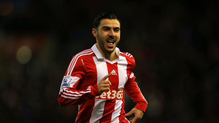 Oussama Assaidi: Back with Stoke for second loan spell