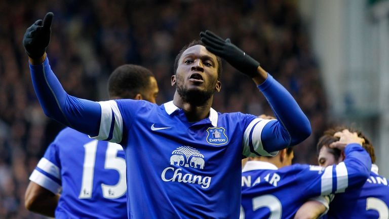Romelu Lukaku: Bagged 15 league goals for Everton last season