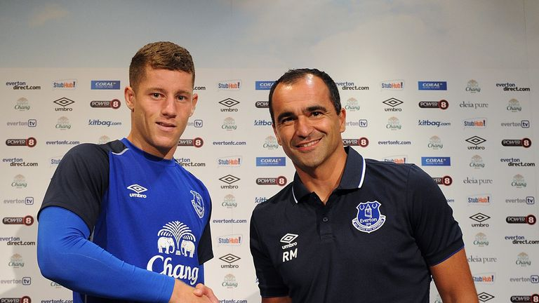 Roberto Martinez: No deal with Chelsea to have option on Ross Barkley