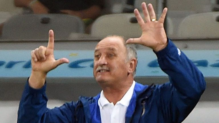 Luiz Felipe Scolari: 7-1 defeat should mean the sack, says Zico