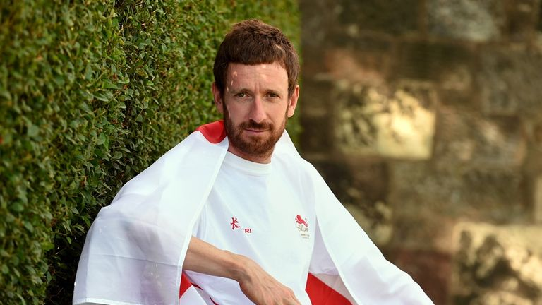 Sir Bradley Wiggins is one of the highest-profile athletes at the Commonwealth Games