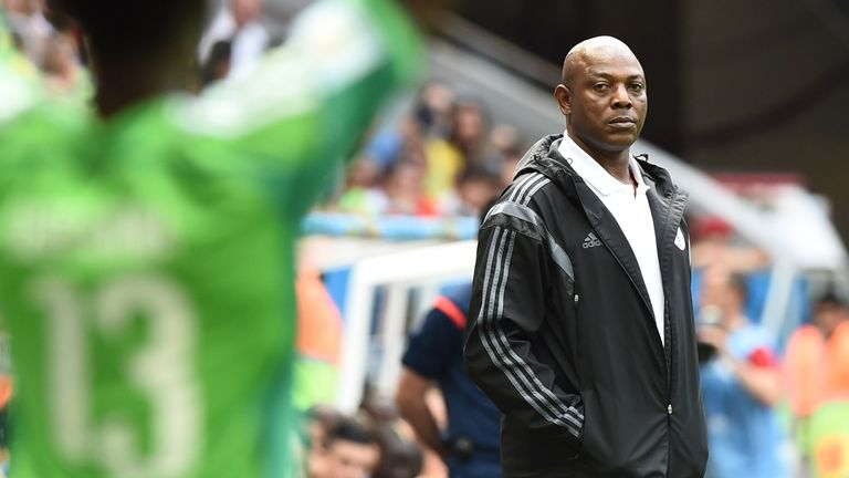 Stephen Keshi: Stepping down from post