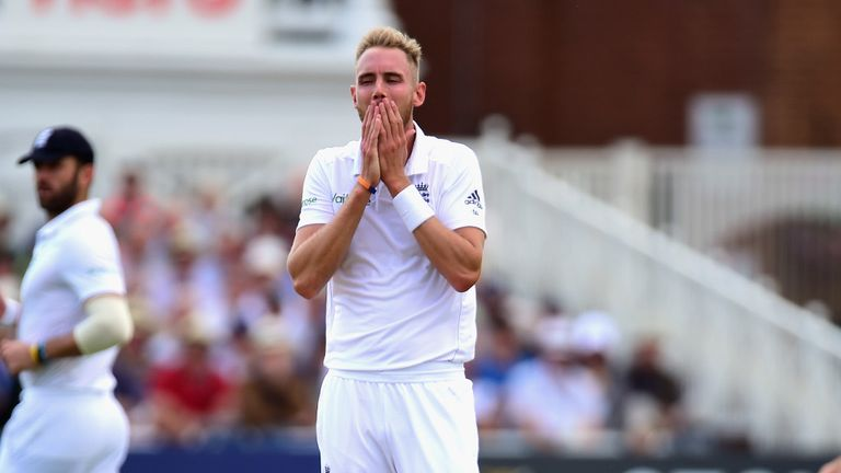 Stuart Broad: Will go through a 14-week rehabilitation plan to be ready for next year's World Cup