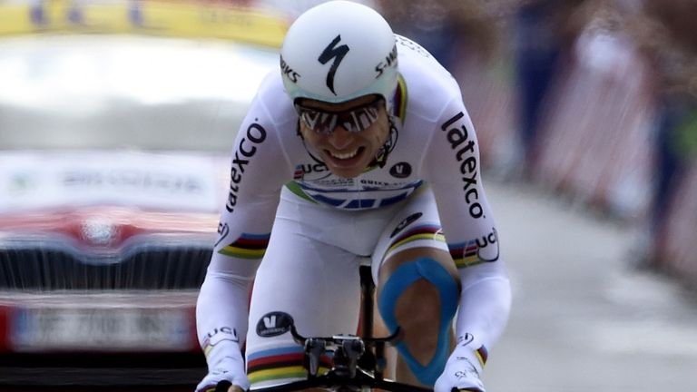 Tony Martin claimed his second stage win of the race