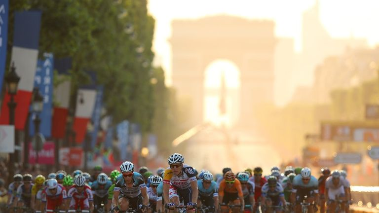 Don't miss your chance to watch the final stage of this year's Tour de France from the Champs-Elysees in Paris