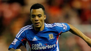 Calaum Jahraldo-Marti: Loaned out to Tranmere
