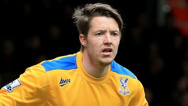 Wayne Hennessey: Struggling for game time at Crystal Palace