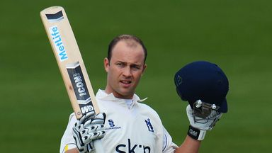 Jonathan Trott: Captain for two four-day games