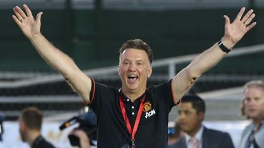 Louis van Gaal: Manchester United manager pleased to beat Inter Milan