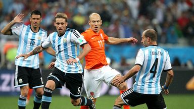 Arjen Robben: Proud of Netherlands' World Cup campaign