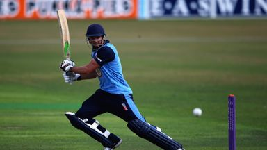 Billy Godleman: Opener top-scored with 96 to help Derbyshire reach the knockout stages