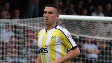 Callum Ball: The former Derby County player had a loan spell with Torquay United.