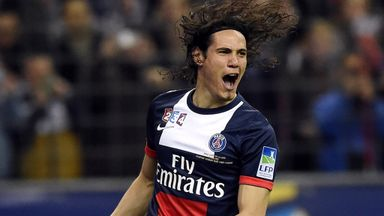 Edinson Cavani: The subject of much speculation this summer