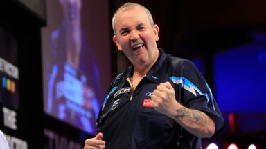 Phil Taylor: The world No 2 starts his campaign against Jyhan Artut