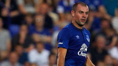 Darron Gibson: Everton midfielder is keen to impress in Ireland