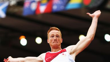 Greg Rutherford: Hoping to claim another gold medal when he competes in the long jump final