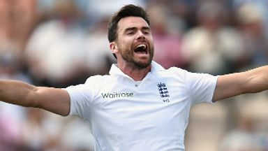 James Anderson: Polished off India