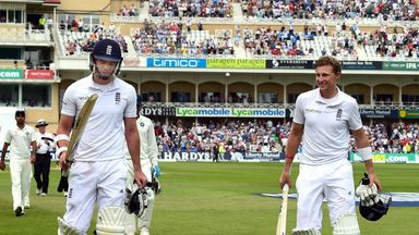 James Anderson and Joe Root: 198-run stand