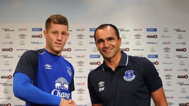 Ross Barkley: Congratulated by Martinez