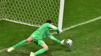 Tim Krul: Holland goalkeeper won