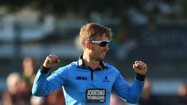 Will Beer: Sussex leg-spinner took 3-14 and hit winning runs