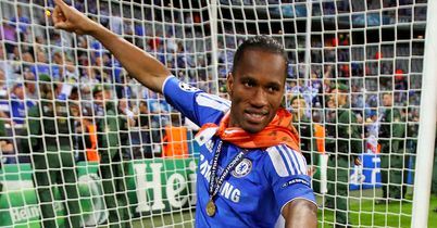 Didier Drogba: Chelsea legend back at Stamford Bridge