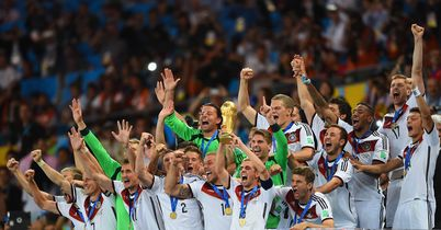 Germany: Celebrate their World Cup triumph