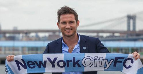 Frank Lampard will be one of the star names when New York City begin life in 2015