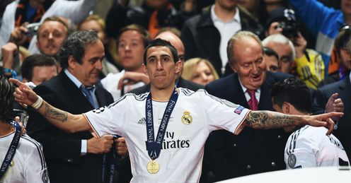 Angel Di Maria: Linked with a move to Manchester United