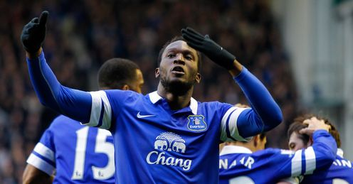 Romelu Lukaku: Will continue his career at Goodison Park