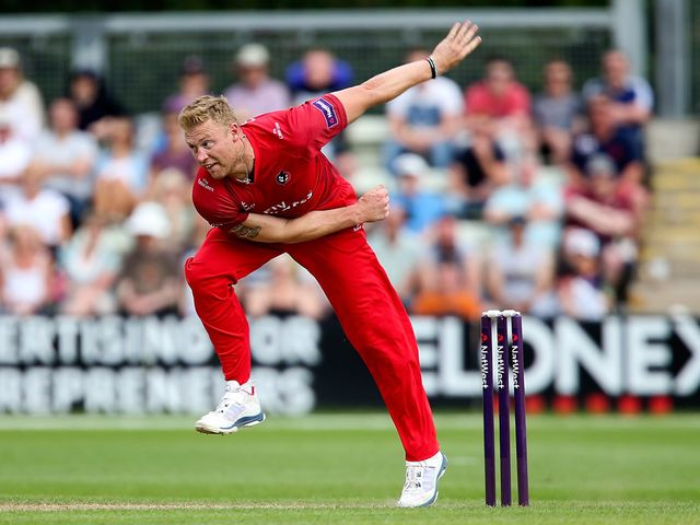 Andrew Flintoff took two wickets on his return