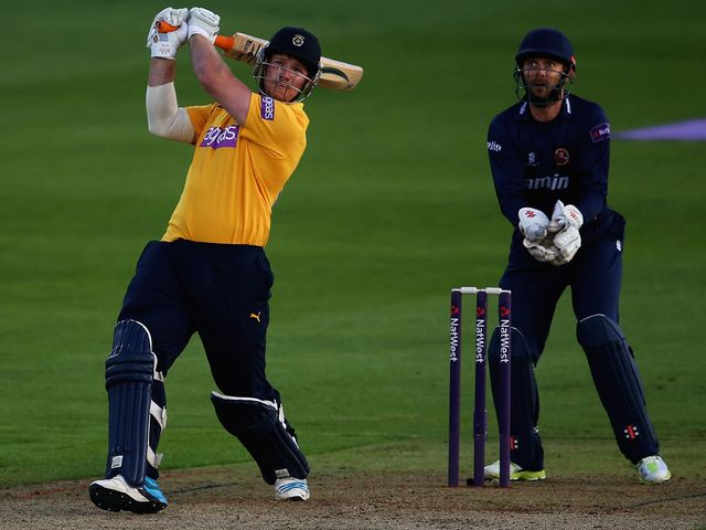 Matt Coles blasted a half-century from just 18 balls faced