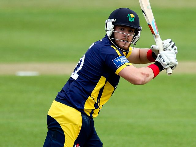 William Bragg: Helped Glamorgan claim victory