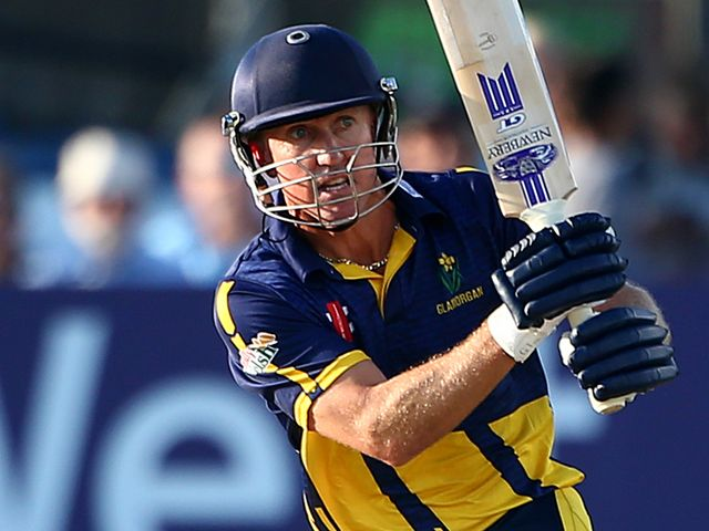 Murray Goodwin: Helped Glamorgan claim victory
