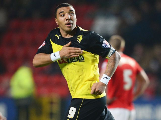 Troy Deeney: On target for Watford
