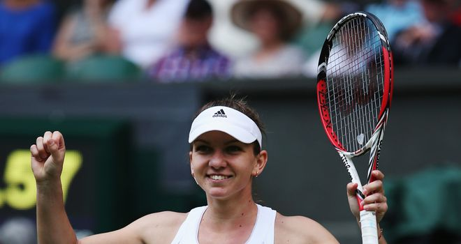 Simona Halep: Romanian one win away from second major final in a row