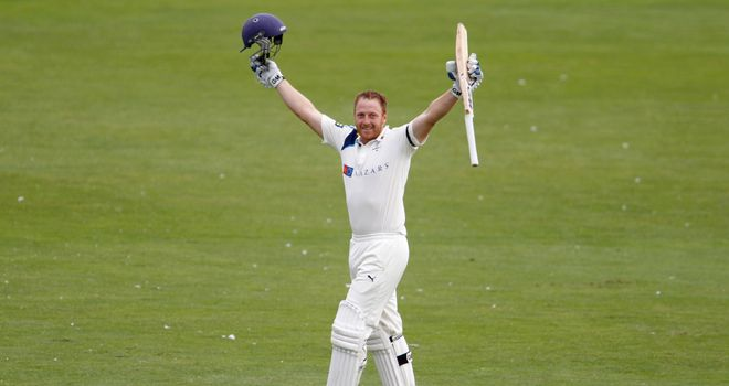 Andrew Gale: Scored a season's best 126 not out as Yorkshire batted all day against Middlesex