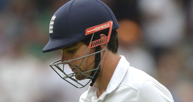 Alastair Cook: Another disappointing innings from the skipper