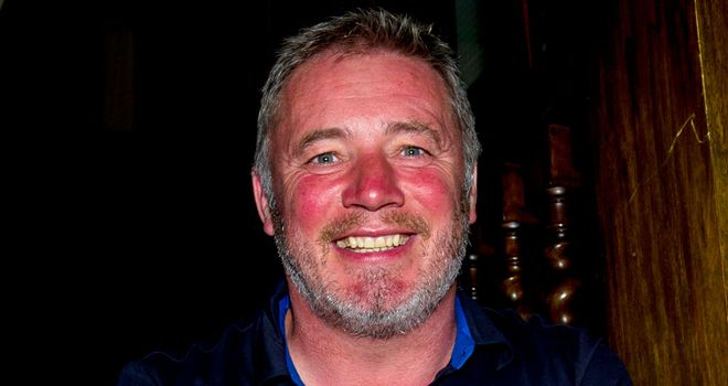 Ally McCoist: At Rangers' Brora headquarters ahead of Highland tour
