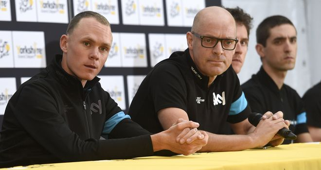 Sir Dave Brailsford insists helping Chris Froome win future Tours de France is his sole focus
