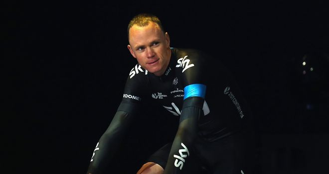 Chris Froome has been blown away by the welcome he has received in England