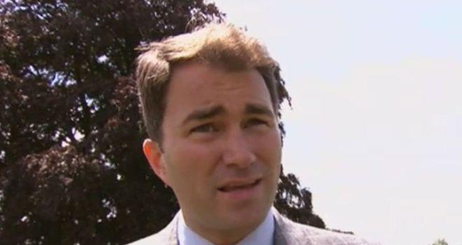 Eddie Hearn: Hopeful of making Brook v Khan
